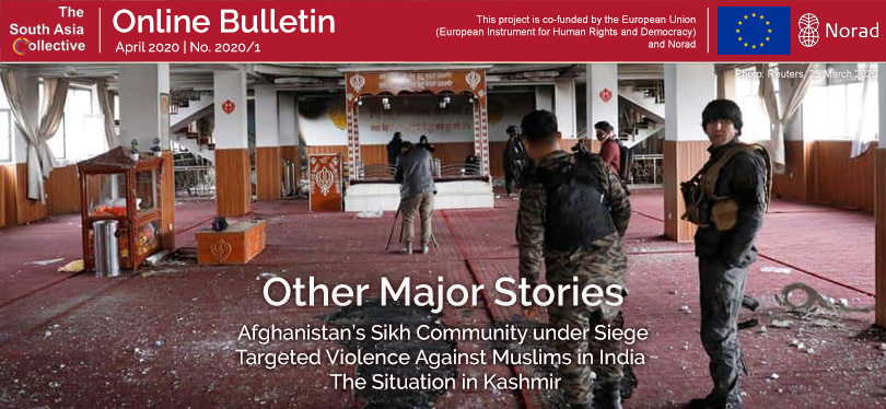 The South Asia Collective Online Bulletin #2: Other Major Stories