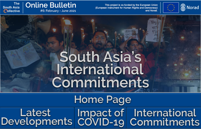 South Asia's International Commitments